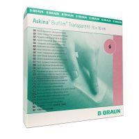 Аскина Биофилм (Askina Biofilm Transparent) - гидроколлоидная повязка (прозрачная)