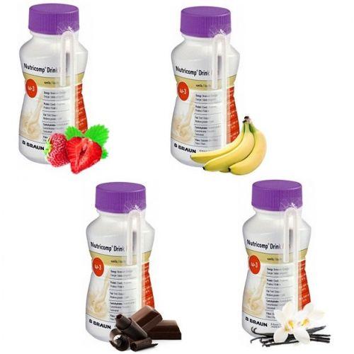 Нутрикомп Дринк Плюс (Nutricomp Drink Plus) 200 мл. - жидкая смесь для энтерального питания из категории Смеси