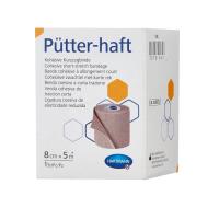 Putter-haft (Пюттер Хафт) - бинт эластичный самофиксирующийся короткорастяжимый, телесного цвета