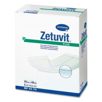 Zetuvit Plus (Цетувит Плюс) - стерильная супервпитывающая абсорбирующая повязка
