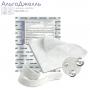 АльгоДжелль Аг+ (AlgoJell Ag+) - Стерильная кальциево-альгинатная повязка с ионами серебра из категории Кальциево-альгинатные