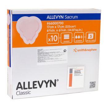 ALLEVYN Sacrum (Аллевин Сакрум) - Cамоклеящаяся повязка на крестец с обильной экссудацией