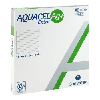 Аквасель Экстра Аг+ (Aquacel Extra Ag+) - Экстра повязка Гидрофайбер® с серебром и усиленным волокном