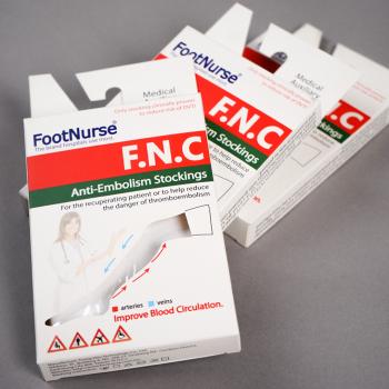 FootNurse (ФоотНурсе) - Чулки противоэмболические трикотажные компрессионные, 1 класс