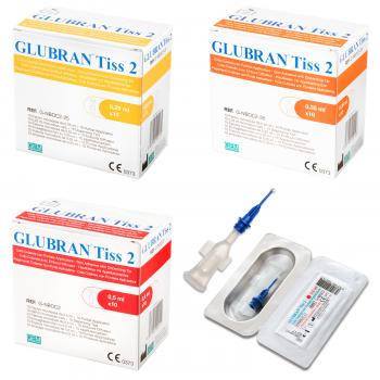 Глубран Тисс 2 (Glubran Tiss 2) - Двухкомпонентный клей для кожи и насадка-аппликатор, CE 0373