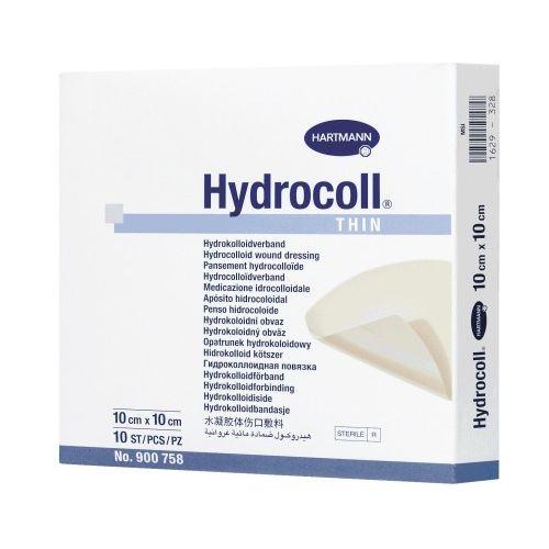 Hydrocoll Thin (Гидроколл Тин) - Тонкая гидроколлоидная повязка для слабоэкссудирующих ран из категории Гидроколлоидные