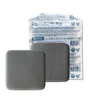 Neofix FibroSorb Ag (Неофикс ФиброСорб Аг) - Абсорбирующая губчатая повязка с ионами серебра, 10 см х 10 см