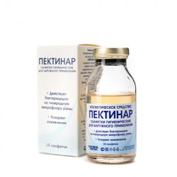 Пектинар / Доктор Пектин - Cалфетки гигиенические для наружного применения, 10 шт