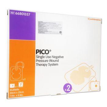 PICO Multisite (ПИКО Мультисайт) - Портативная система для лечения ран отрицательным давлением, одноразовая c мягким портом