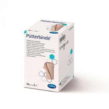 Пюттербинт (Putterbinde) - Бинт среднерастяжимый компрессионный при венозных язвах, лимфостазе