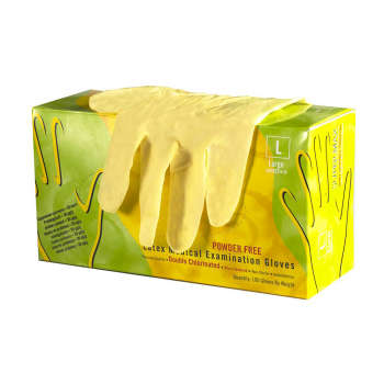 Супермакс (Supermax) - Перчатки медицинские смотровые,  латексные, неопудренные, двухкратного хлорирования