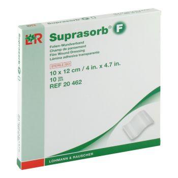 Супрасорб Ф (Suprasorb F) - Стерильная прозрачная пленка для влажного заживления ран, 10 см x 12 см