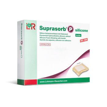 Супрасорб П силикон (Suprasorb P silicone) - Трехслойная силиконовая губчатая повязка